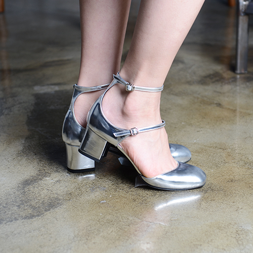 GUNMETAL LEATHER MARY JANE 5